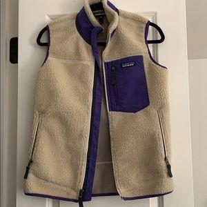 Small Patagonia fur vest